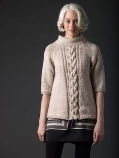 Level 3 Knit Pullover - FREE PATTERN from Lion Brand Yarn by Mary Lynn Patrick