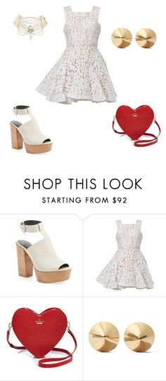 """""""Spring Fling"""" by beautyniya1 ❤ liked on Polyvore featuring Rebecca Minkoff, Alex Perry, Kate Spade, Eddie Borgo and Erickson Beamon"""