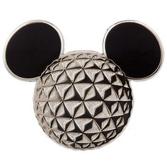 Mickey Mouse Icon Pin - Epcot | Pins (Individual) | Disney Store