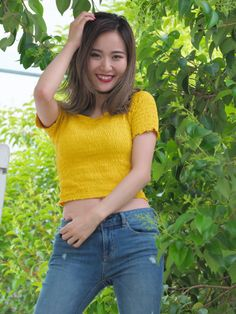Asian Woman, Asian Girl, The Empress Of China, Golf Images, Best Jeans For Women, Japanese Girl, Jeans Style, Asian Beauty, Cute Girls