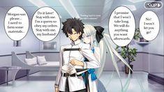 Anime Couple Kiss, Anime Couples, Morgan Le Fay, Type Moon Anime, Fate Stay Night Anime, Fate Servants, 6th Anniversary, Fate Anime Series, Fate Zero