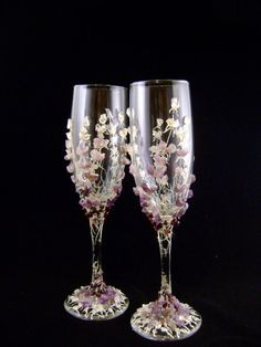 Awesome beautiful lavender & champagne