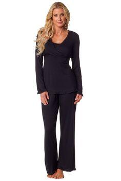 Majamas Margo Nursing Pajama Set | Maternity Clothes Holiday wish list~Maternity Pajamas www.duematernity.com #maternityclothes