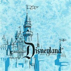 Disney Castle Graphic