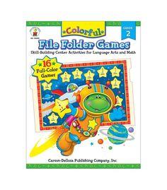 Colorful File Folder Games File Folder Game