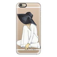 iPhone 6 Plus/6/5/5s/5c Case - Miriam-Fashion Illustration-Brooklit ($40) ❤ liked on Polyvore featuring accessories, tech accessories, iphone case, apple iphone cases, iphone cover case, iphone cases and slim iphone case