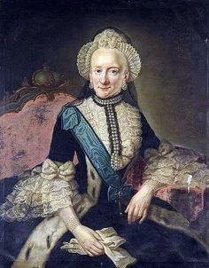 Therese Natalie hija de Ferdinand Albretch II 1773