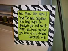 LA Art: Bible Verse Canvas