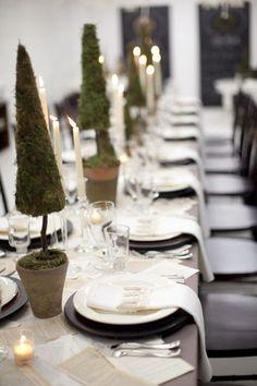 Elegant holiday topiary