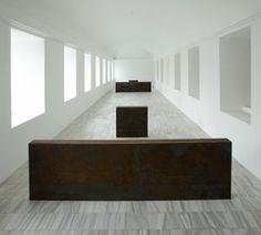 Richard Serra. Equal-Parallel: Guernica-Bengasi. Museo Reina Sofia, Madrid.