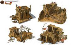Tim Hill Concept Art and Illustration Lego Indiana Jones