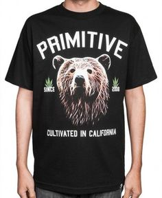 Primitive - Golden Bear T-Shirt - $28