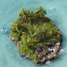 Lagoon at the Hilton Hawaiian Village Resort, Waikiki Beach, Oahu, Hawaii