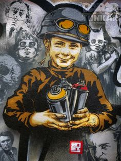 [Paris Tonkar magazine] #graffiti #streetart #urban #lifestyle: Une belle tuerie à Panam' !