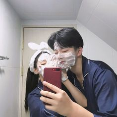 Find images and videos about love, couple and korean on We Heart It - the app to get lost in what you love. Cute Couples Photos, Cute Couple Pictures, Cute Couples Goals, Couple Goals, Couple Photos, Relationship Goals Pictures, Cute Relationships, Ulzzang Couple, Ulzzang Girl