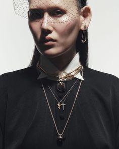 By Keem Sinae (Harper's Bazaar Korea) Punk Princess, Harpers Bazaar, Stylists, Korea, Chain, Curiosity, Jewelry, Bag, Style