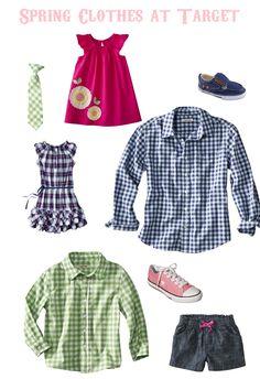 Spring clothes at Target