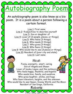 Autobiography Poems