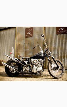 1957 Custom Built Harley Davidson Pan Head