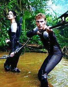 Hunger Games / Catching Fire / Katniss / Finnick