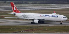 Turkish Airlines Airbus A330-300 at ZRH