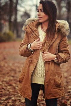 Furious Squirrel: Beige parka love it!!!