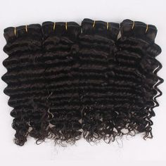 Wet and Wavy Brazilian Deep Wave Hair Weaving Bundles,10-30'' Bouncy Tight Brazilian Virgin Remy Deep Curly Human Hair Weft Extension Weaves Pls feel free to contact me.  Email:brenna@eunicehair.com Whats App:+86-15002057323 Skype:brenna1018