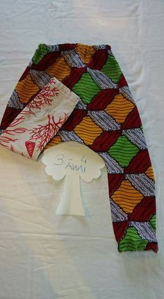 Sea Lover Trousers Coralli Rossi Handmade Pantaloni comodi 3 anni I❤Son
