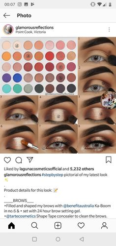 make up looks natural eyeshadows Makeup Eye Looks, Eye Makeup Steps, Love Makeup, Skin Makeup, Makeup Inspo, Eyeshadow Makeup, Makeup Inspiration, Eyeshadows, Makeup Goals