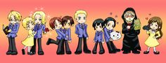 Hetalia/Ouran High School Host Club--France as Tamaki? IT MAKES SO MUCH SENSE! (after all, he is part French, sooo...)