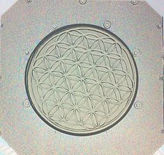 Flexible Resin Mold Sacred Geometry Flower of Life by KAPCREATIONS