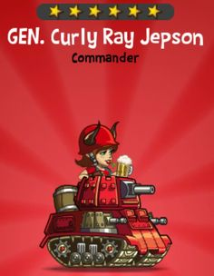 Gen. Curly Ray Jepson {video}
