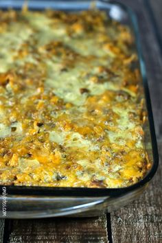 Sausage and Stuffing Brunch Bake - Emily Bites