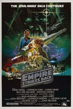 Star Wars. The Empire Strikes Back - George Lucas (Mark Hamill, Harrison Ford, Carrie Fisher)