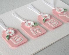 handmade baby cards - Google Search baby tags