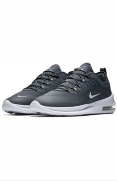 c78c6bebdb34 Nike Air Max Axis Mens AA2146-002 Cool Grey White Running Shoes Size 10 NEW