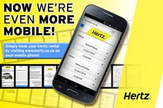Book your Hertz rental via your Mobile phone! Life just made easier! Make It Simple, How To Find Out, Phone, Facebook, News, Life, Telephone, Mobile Phones