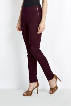 Choose from the latest styles of dresses, coats, tops, trousers, and petite. Berry, Capri Pants, Fashion Dresses, Trousers, Autumn, Zip, Clothes For Women, Coat, Shopping