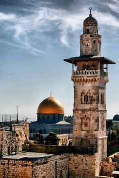 My heart yearns for Jerusalem Palestine History, Israel Palestine, The Places Youll Go, Places To Visit, Terra Santa, Karbala Photography, Dome Of The Rock, Beautiful Mosques, Islamic Architecture