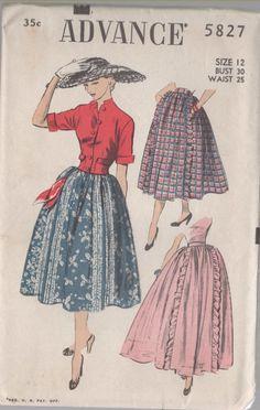 1951 Jacket/Skirt Combo