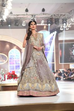 Bridal Couture Week 2015 Honey Waqar Dresses Collection Photo Gallery