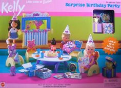 Barbie Kelly Surprise Birthday Party Playset (1999) ** You can find more details by visiting the image link.