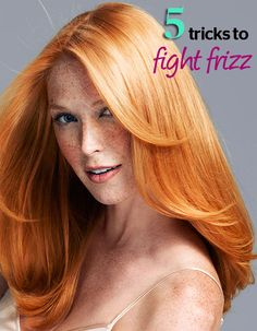 5 Tricks to Beat Frizz, Every Time - We call frizz the F word this summer. Knock it out of your vocabulary with these pro tips and treatments.