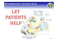 let patient's help co-design... the difference between what patients are thinking vs what health practitioners are thinking