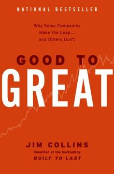 Good to Great is not just a business book. It's helpful for those of us who want to become great people, too.