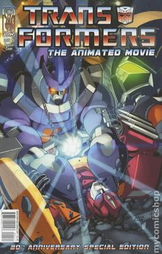 Transformers Animated Movie Adaptation (2006) 4A