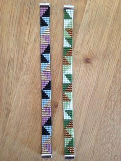 Loom Bracelet Patterns, Bead Loom Bracelets, Bead Loom Patterns, Seed Bead Jewelry, Seed Beads, Beaded Jewelry, Native Beading Patterns, Accesorios Casual, Native American Beading