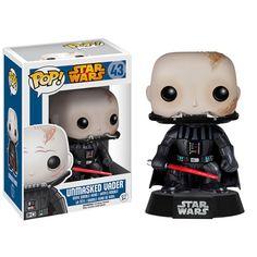 Star Wars Darth Vader Unmasked Pop! Vinyl Bobble Head - Funko - Star Wars - Pop! Vinyl Figures at Entertainment Earth