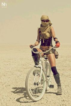 Burning Man bike fashion