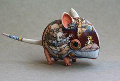 Les Animaux Fantastique en Porcelaine de Anya Stasenko Et Slava Leontyev (6)